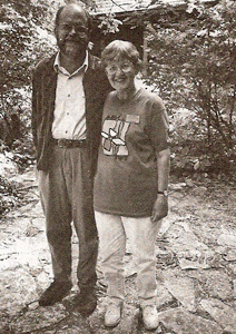 Cary with Elaine Christensen
