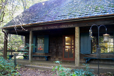Martha Crone Shelter Front View