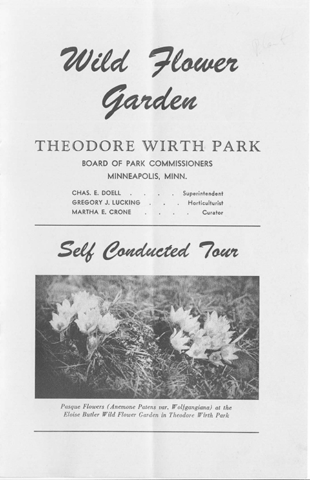 1952 Self conducted Tour brochure