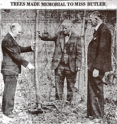 Butler Tree Planting