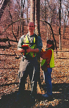 Kunde Employees using GPS