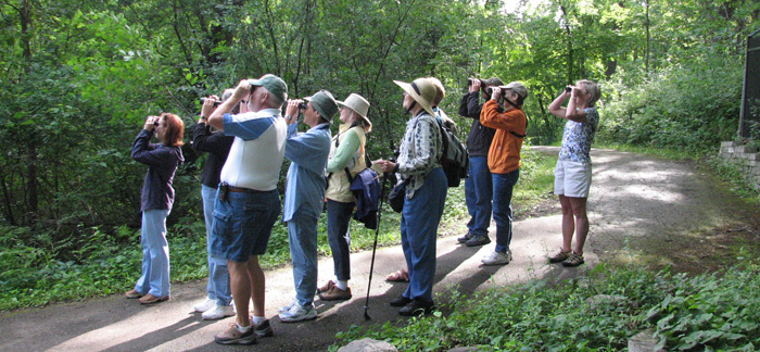 Early Birders Walk at Eloise Butler